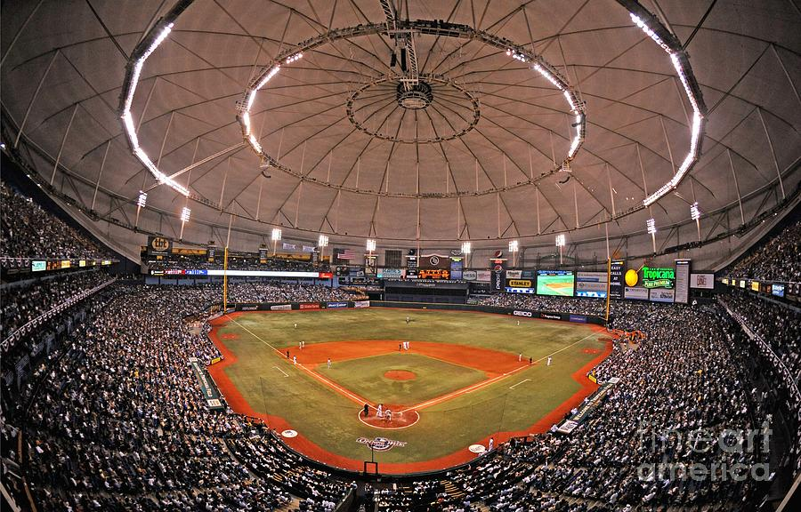 New York Yankees V Tampa Bay Rays Photograph by Al Messerschmidt
