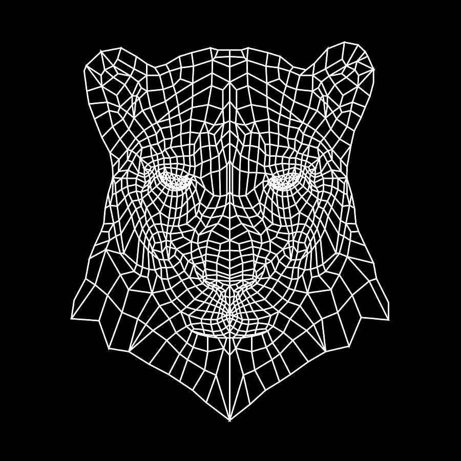 Panther Digital Art - Night Panther  by Naxart Studio