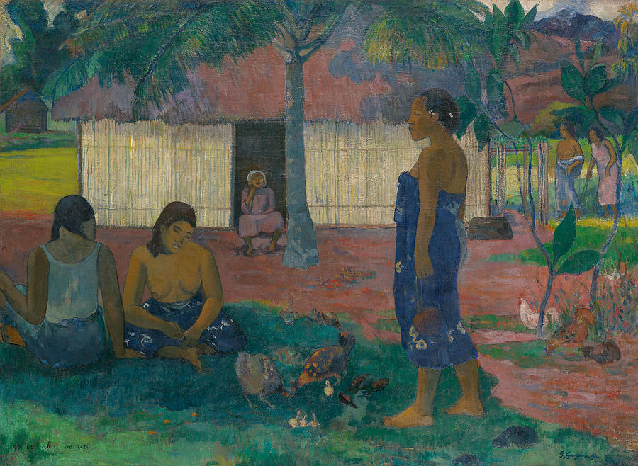 No te aha oe riri by Paul Gauguin