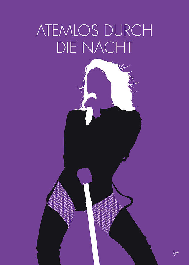 No221 MY HELENE FISCHER Minimal Music poster by Chungkong Art