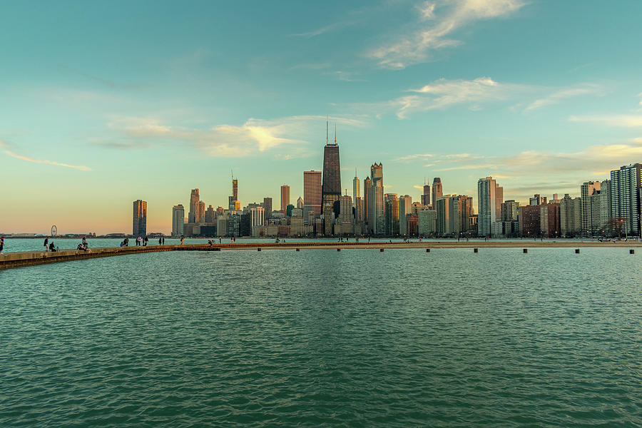 North Avenue Beach - Chicago, IL by Bobby King
