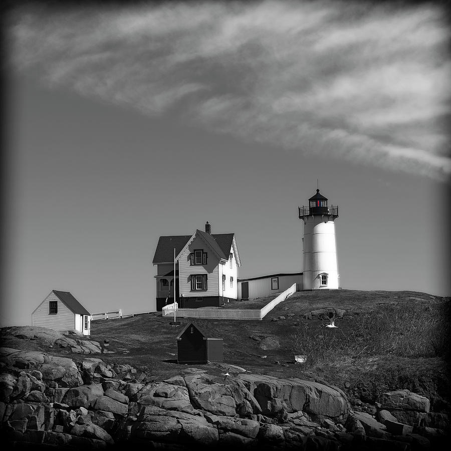 Nubble Lighthoouse by George Pennington