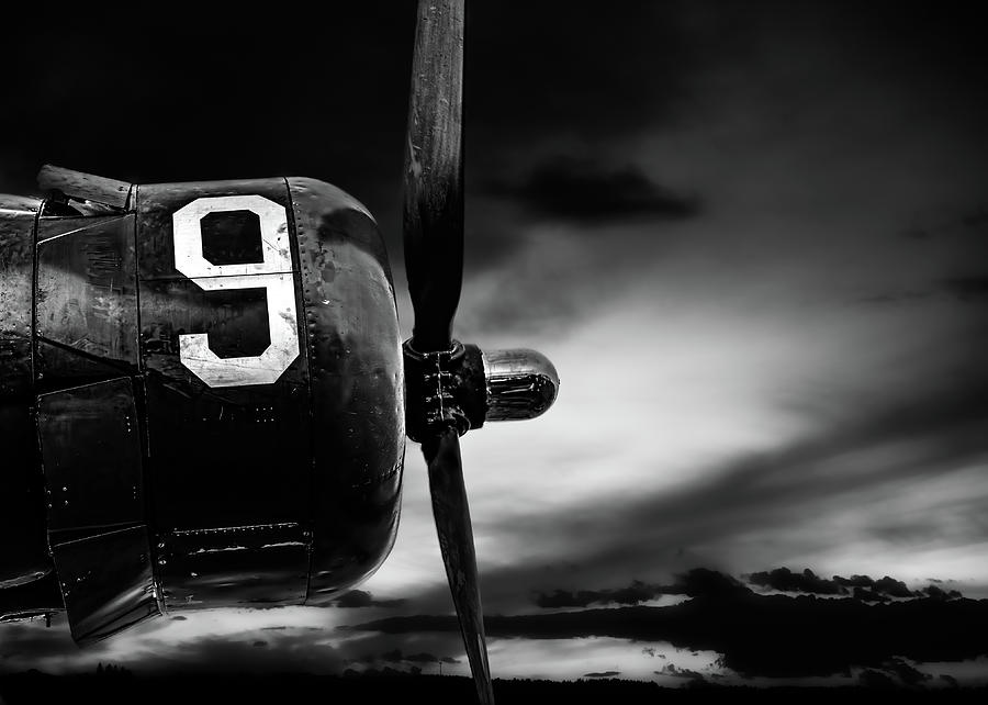 Number 9 Consolidated B-24 Liberator by Bob Orsillo