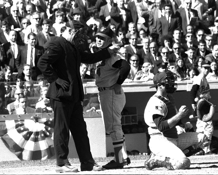 N.y. Mets Vs. Baltimore Orioles. 1969 Photograph by New York Daily News Archive