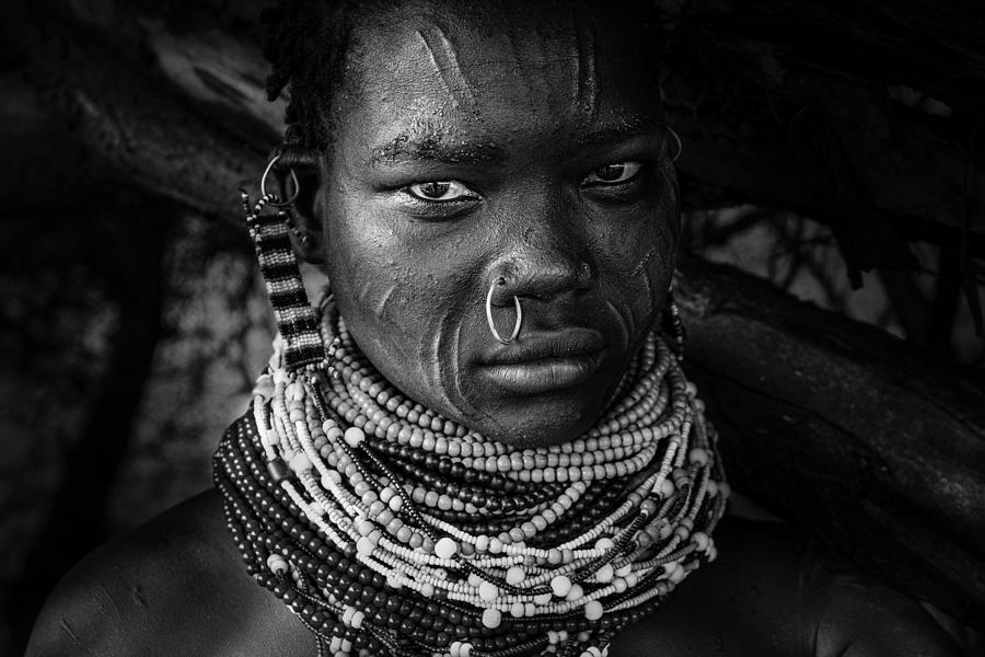Ethiopia Photograph - Nyangatom by Svetlin Yosifov