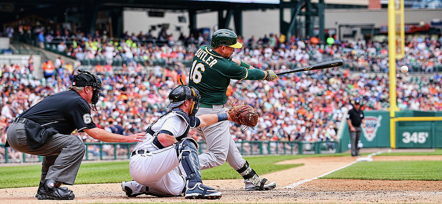 Oakland Athletics V Detroit Tigers Photograph by Leon Halip
