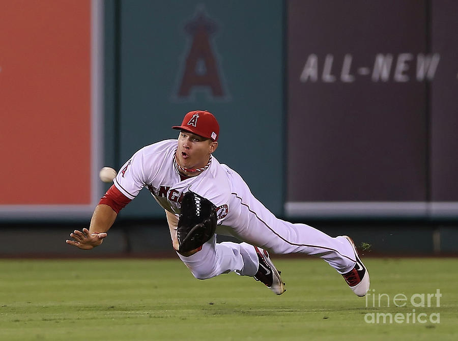 Oakland Athletics V Los Angeles Angels 1 Photograph by Jeff Gross