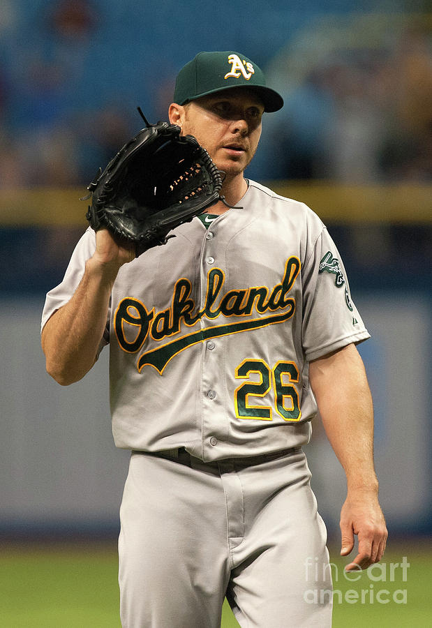 Oakland Athletics V Tampa Bay Rays Photograph by Cliff Mcbride
