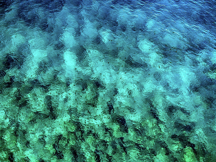 Ocean Abstract by Christopher Johnson