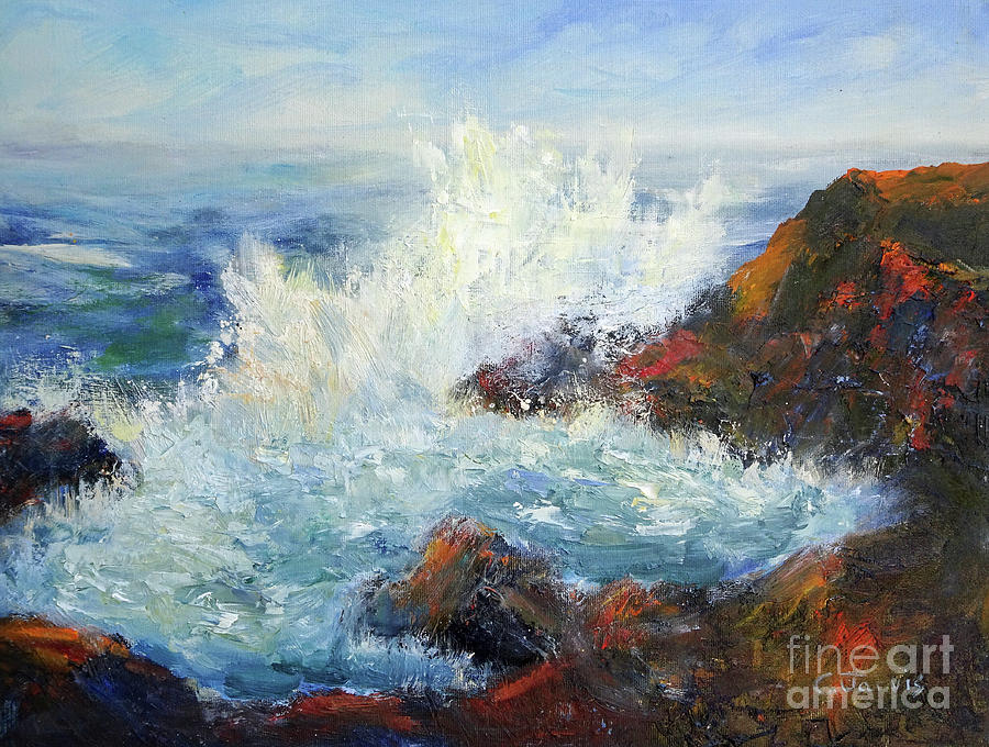 Ocean Splash by Carolyn Jarvis