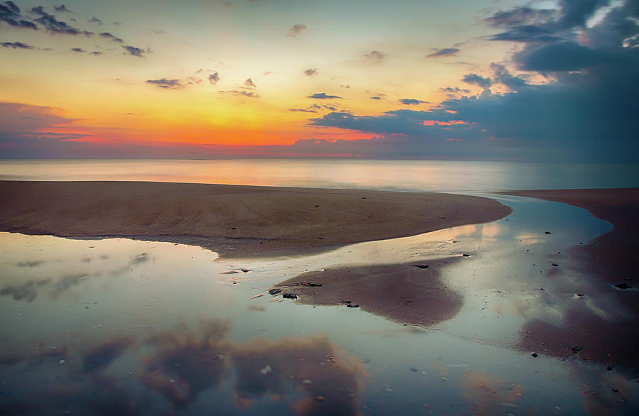 Ocean Sunrise Seascape by R Scott Duncan