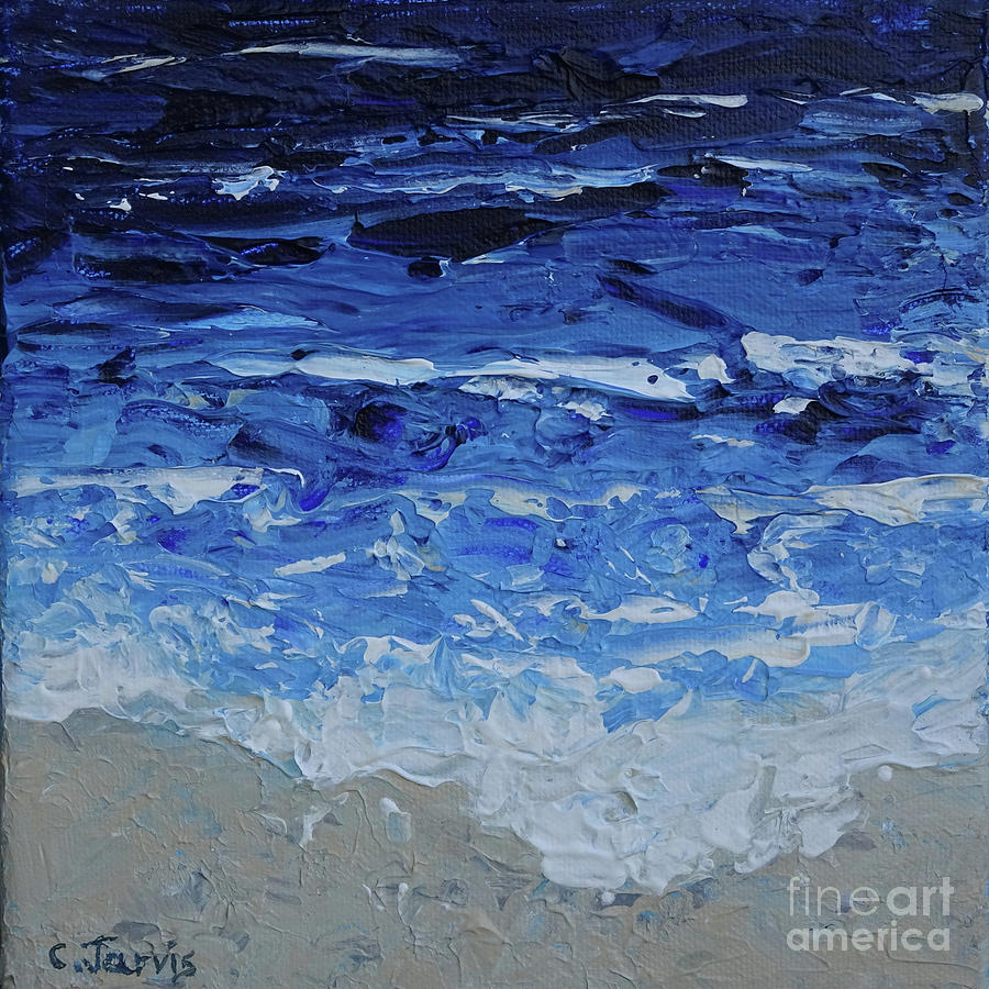 Ocean Surf by Carolyn Jarvis