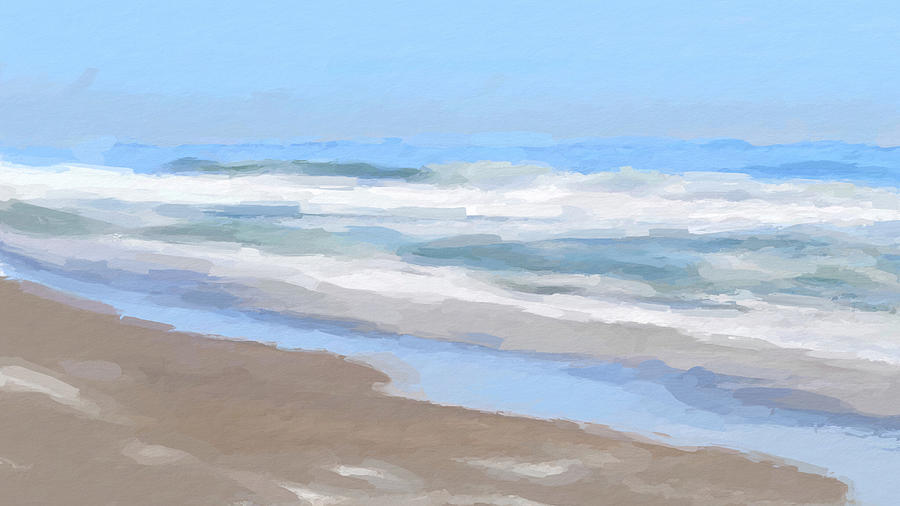 Ocean Waves by ANTHONY FISHBURNE
