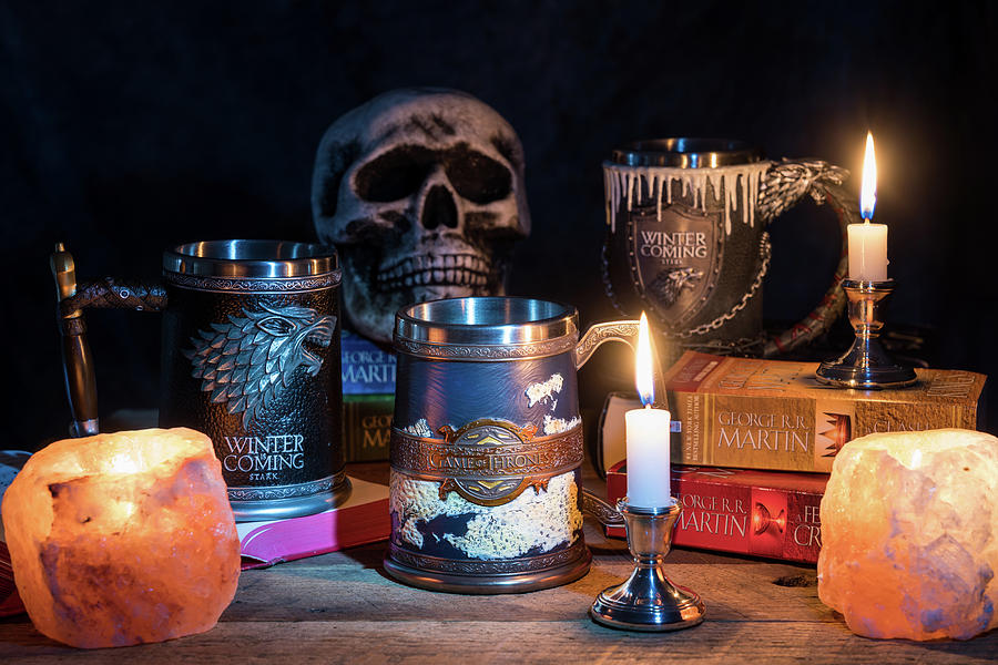 Official Winter is coming tankard from Game of Thrones series by Steven Heap