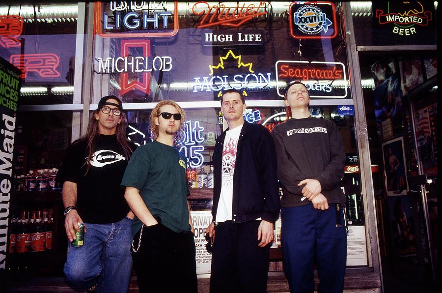 Music Photograph - Offspring Chicago 1994 by Martyn Goodacre