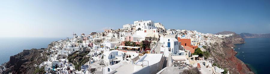 Oia In Santorini, Greece Photograph by David Clapp