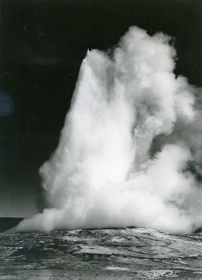Old Faithful Geyser, Yellowstone 1 Photograph by Archive Photos