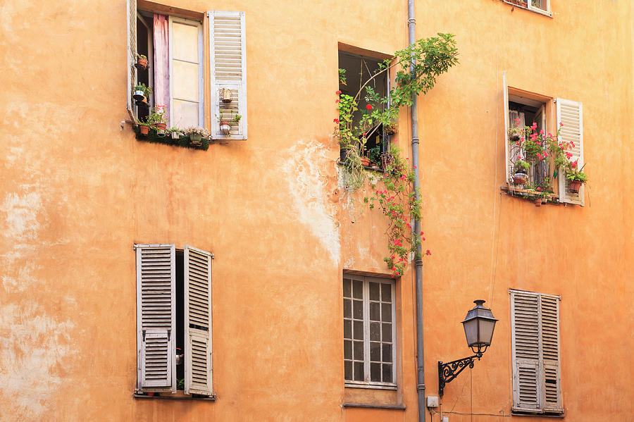 Old Town Of Nice, French Riviera, France Photograph by Aprott