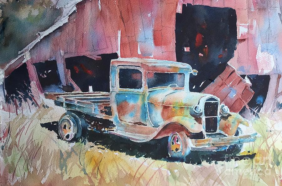 Old truck  by George Jacob