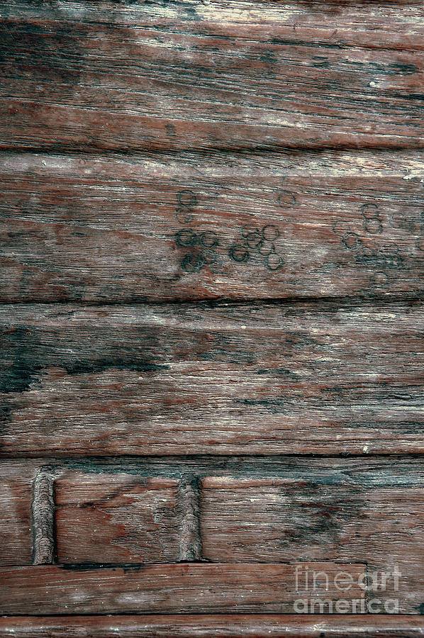 Abstract Photograph - Old Wood Background by Tom Gowanlock