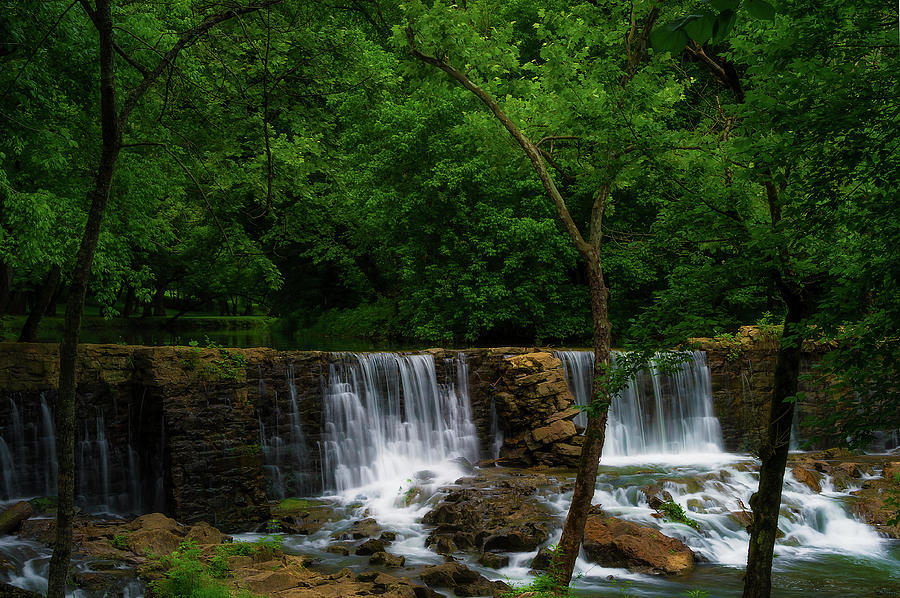 Oldest  Dam in Tennessee on Big Creek by Dee Browning