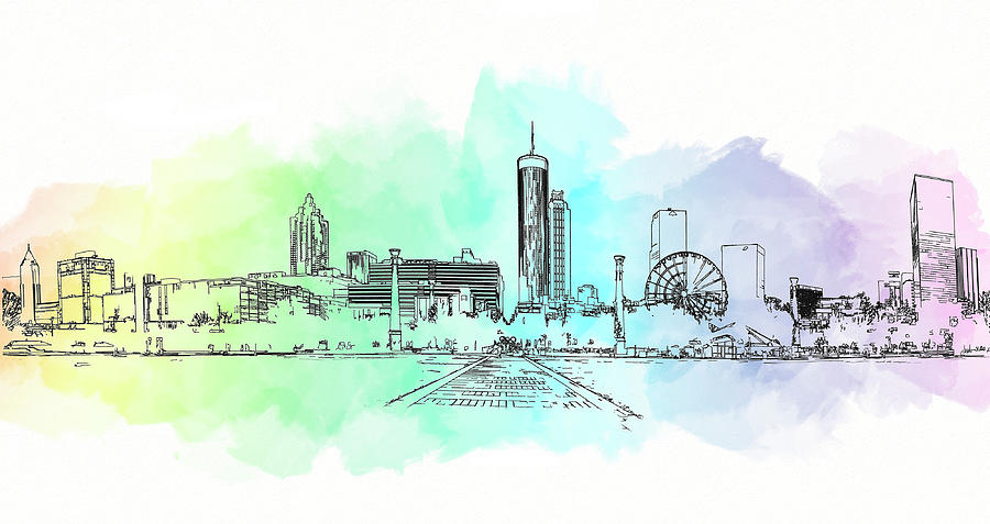 Olympic Park Atlanta by Cyndy Doty
