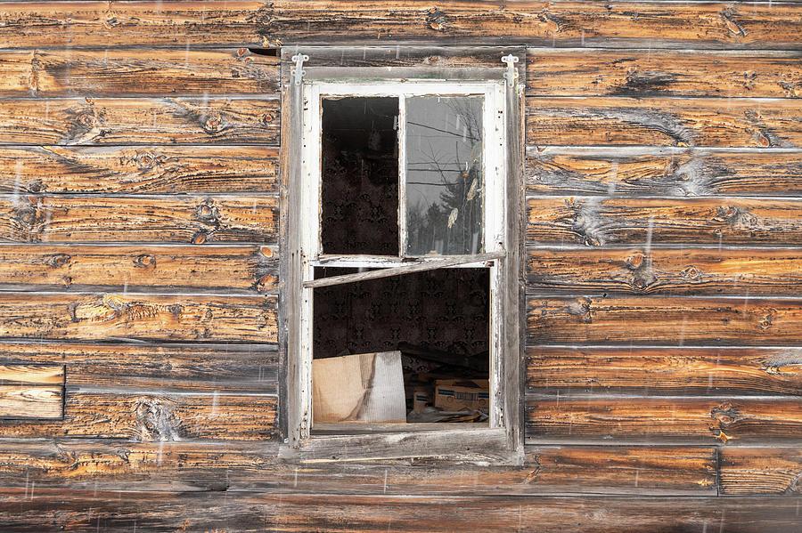 open window by Alan Brown