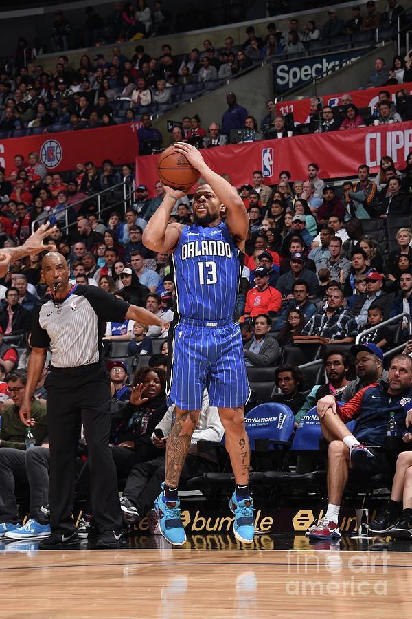Orlando Magic V La Clippers Photograph by Adam Pantozzi