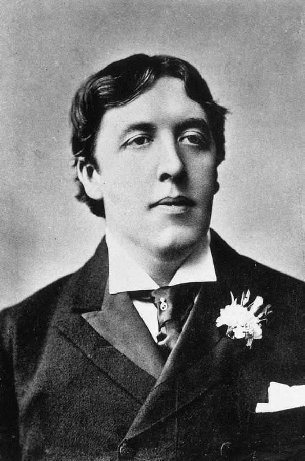 Oscar Wilde Photograph by Alfred Ellis & Walery
