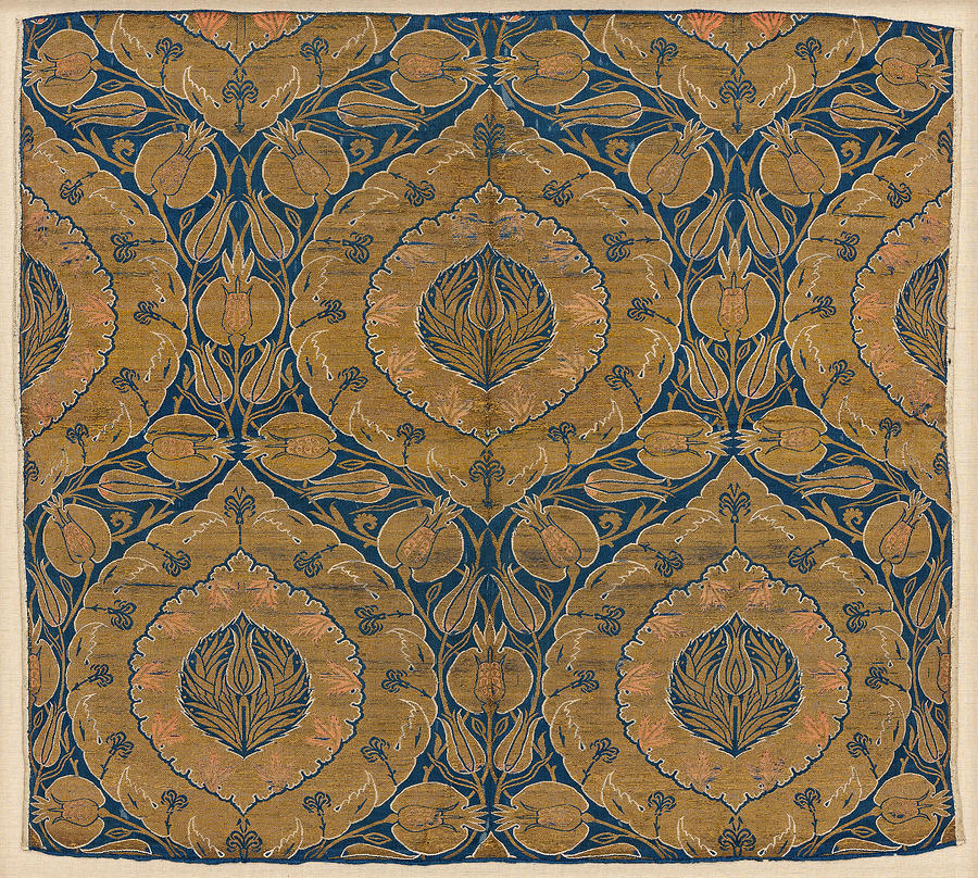 1500s Painting - Ottoman Textiles by Granger