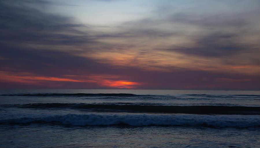Sunrise Photograph - Outer Banks Sunrise by Lora J Wilson