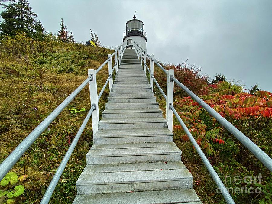Owl's Head Lighthouse by John Greco