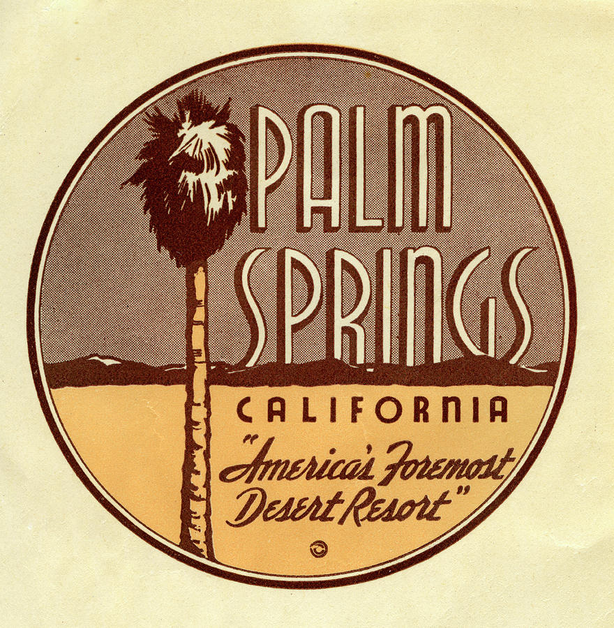 Palm Springs Photograph by Jim Heimann Collection