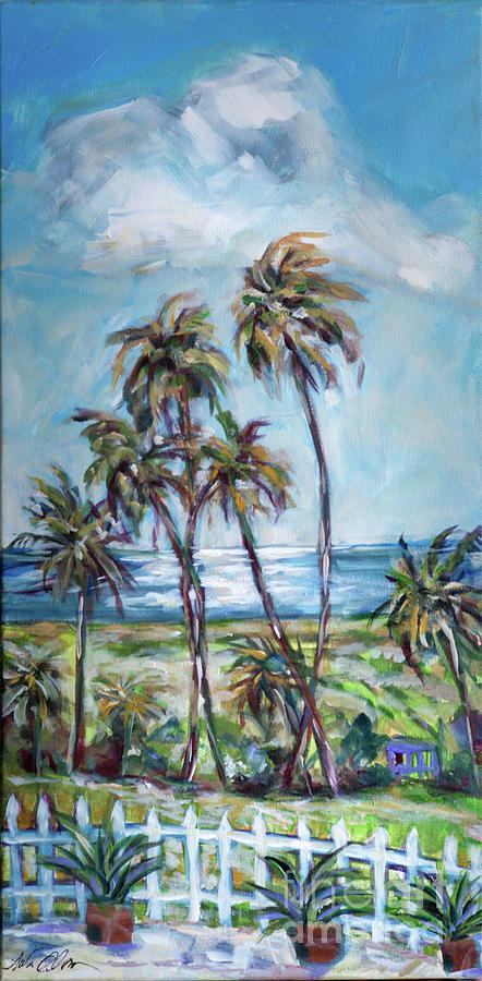 Palms in the Breeze by Linda Olsen
