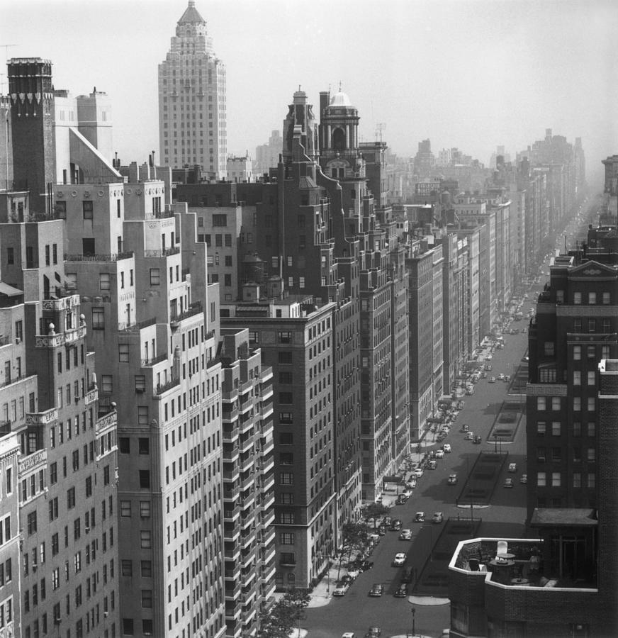 Park Avenue Photograph by Slim Aarons