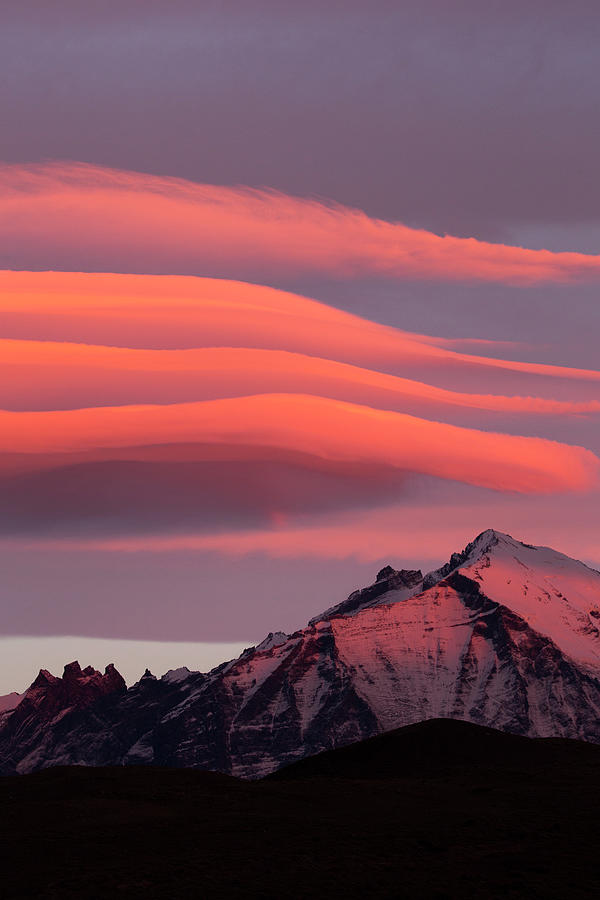 Patagonia Sunrise,  Torres Del Paine Photograph by Sebastian Kennerknecht