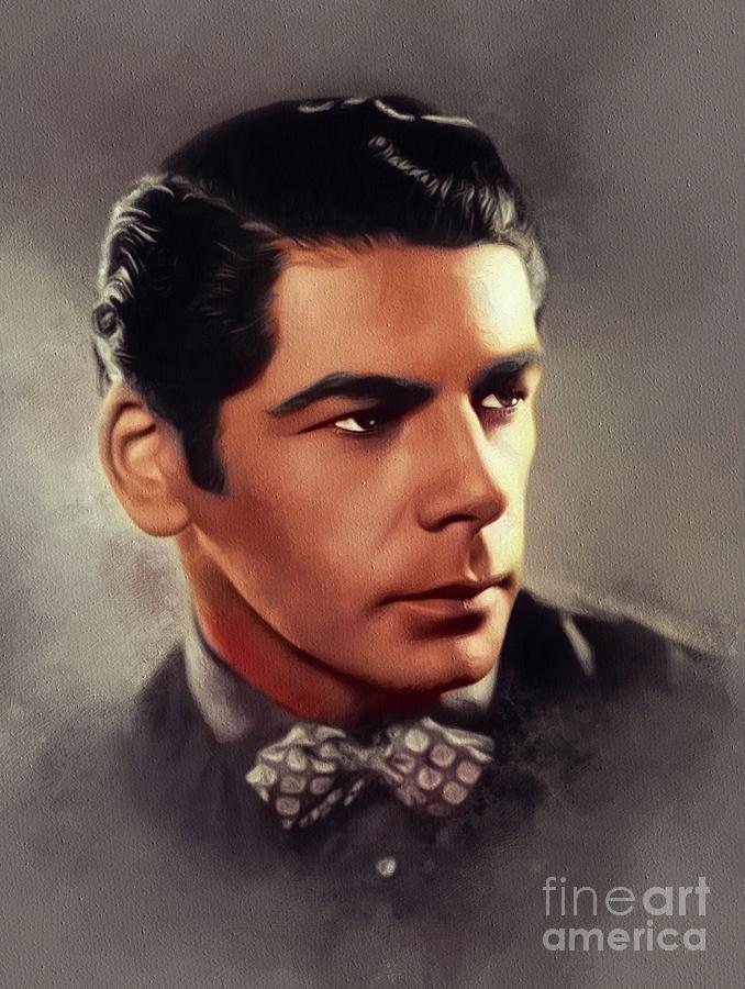 Paul Painting - Paul Muni, Vintage Actor by Esoterica Art Agency