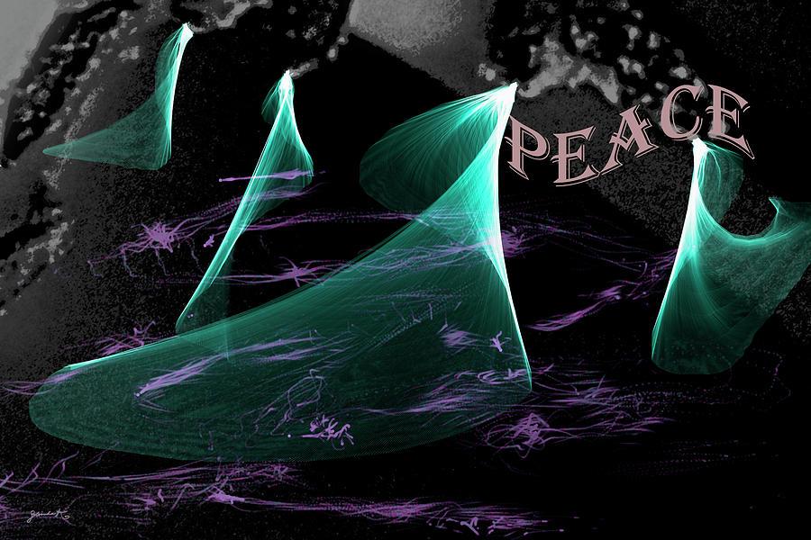 PEACE by Gerlinde Keating - Galleria GK Keating Associates Inc