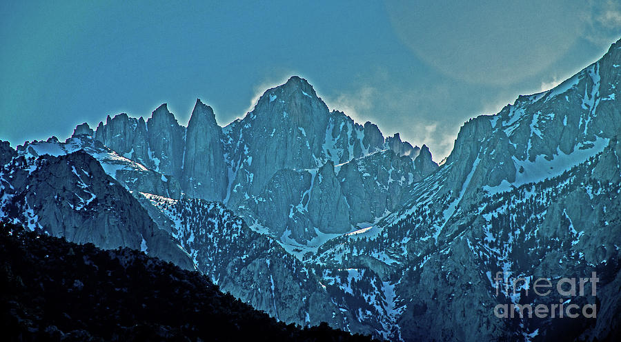 Peaks of Mount Whitney by Stephen Whalen