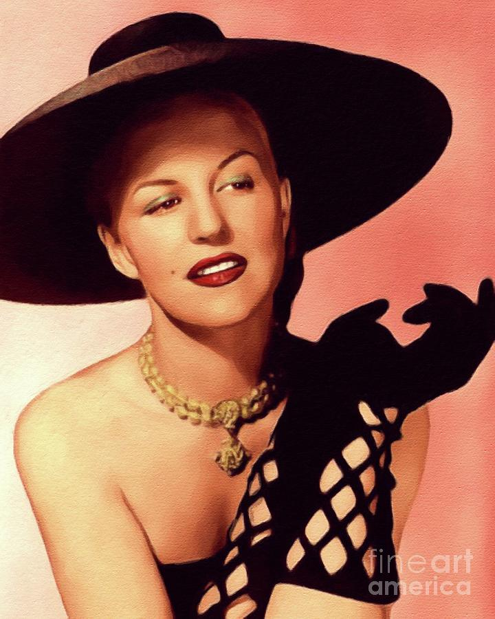 Peggy Lee, Music Legend Painting