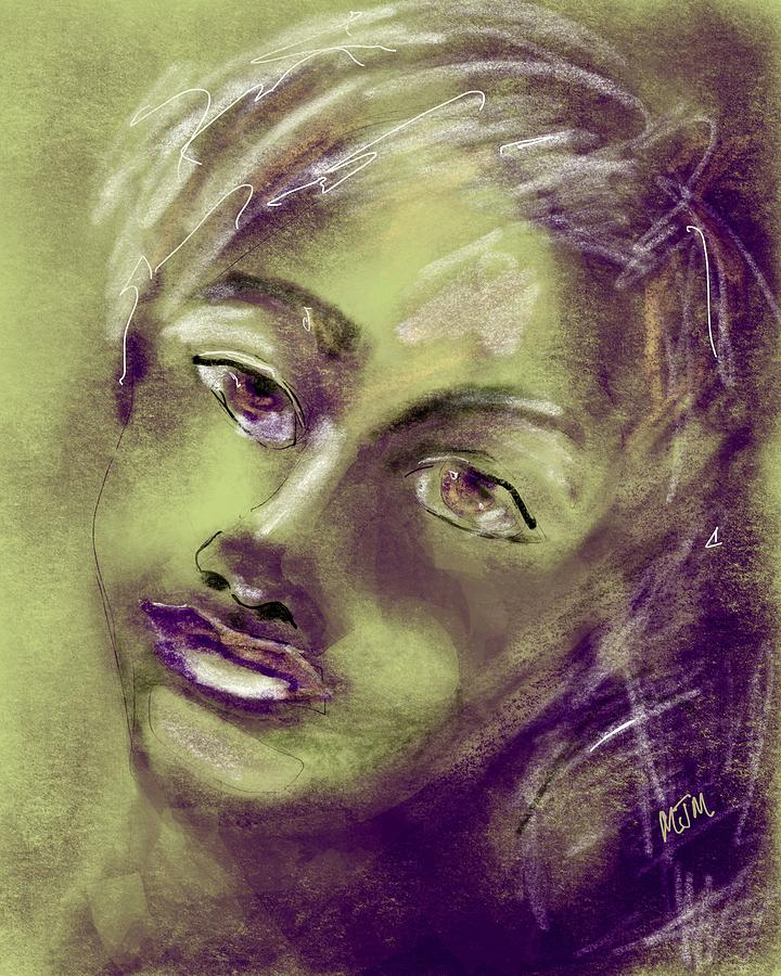 Pensive by Mary Jane Mulholland