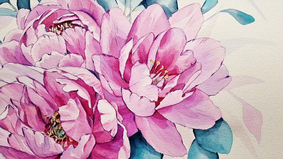 Peonies by Carlene Smith