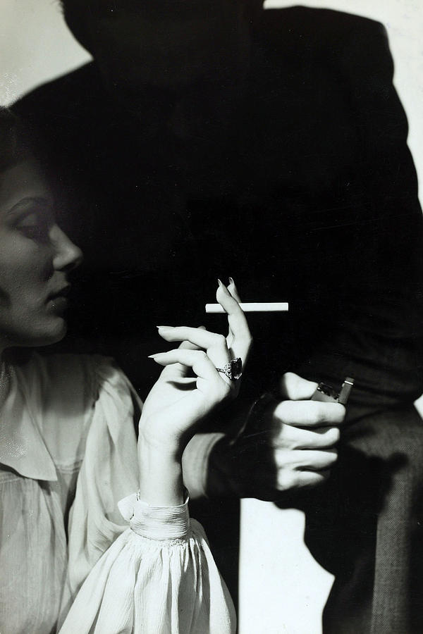People. Health. Smoking. Pic Circa Photograph by Popperfoto