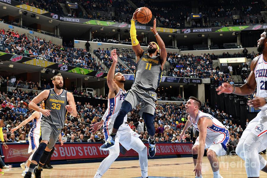 Philadelphia 76ers V Memphis Grizzlies Photograph by Jesse D. Garrabrant