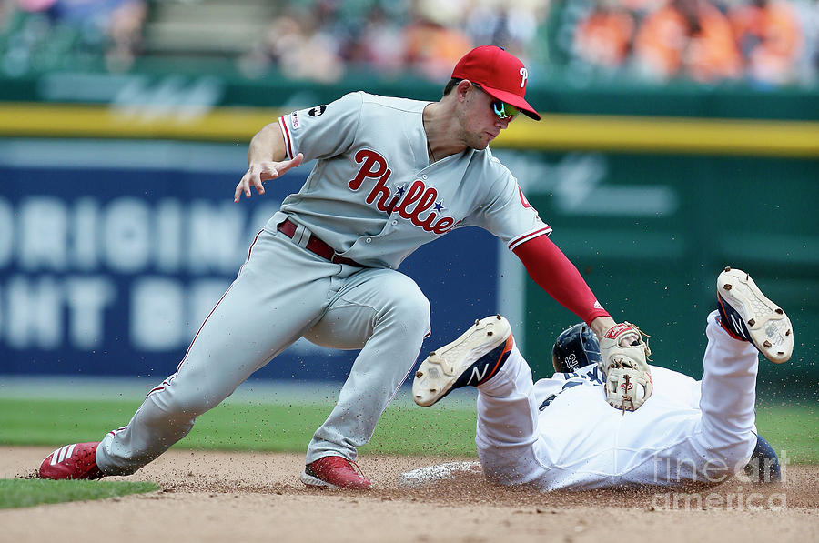 Philadelphia Phillies V Detroit Tigers Photograph by Duane Burleson