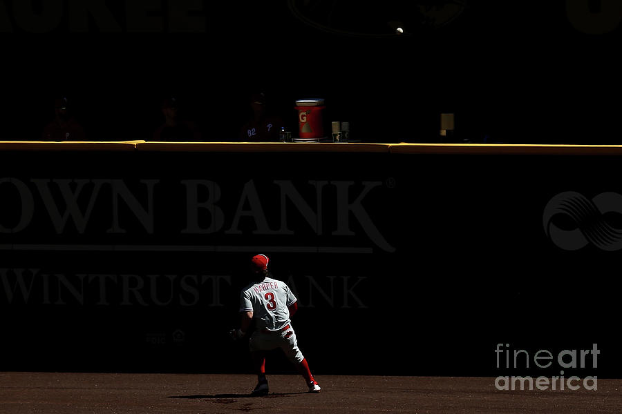 Philadelphia Phillies V Milwaukee Photograph by Dylan Buell