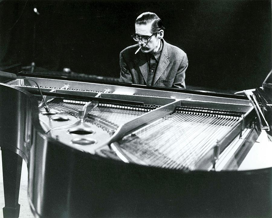 Photo Of Bill Evans Piano Photograph by David Redfern