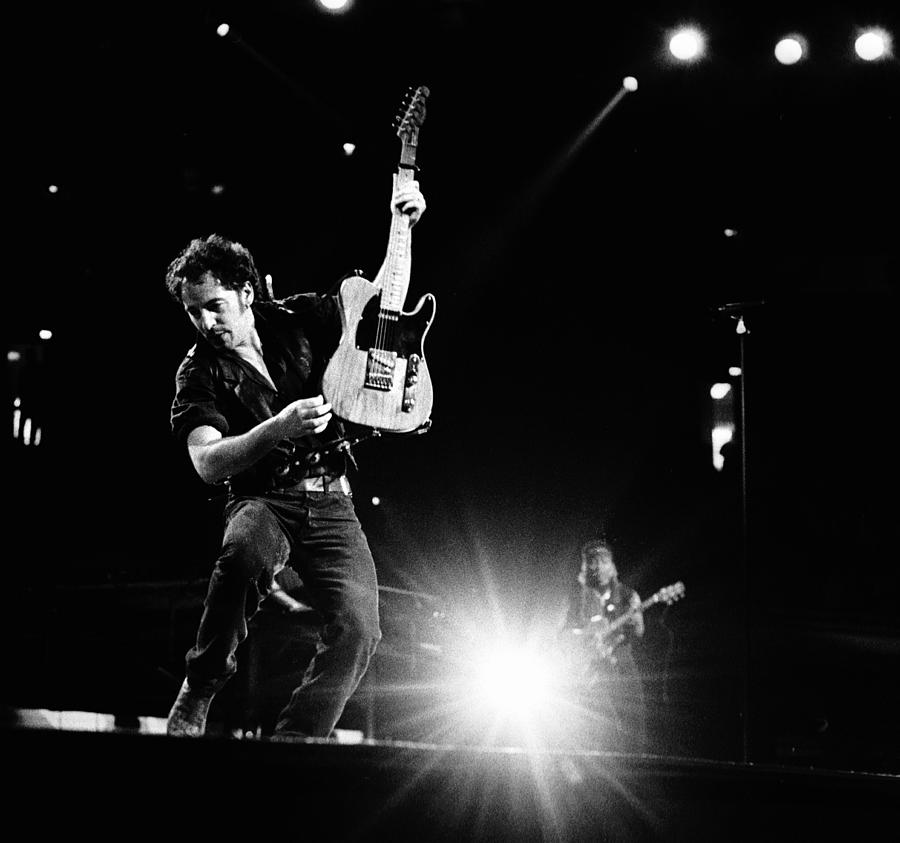 Photo Of Bruce Springsteen Photograph by Paul Bergen