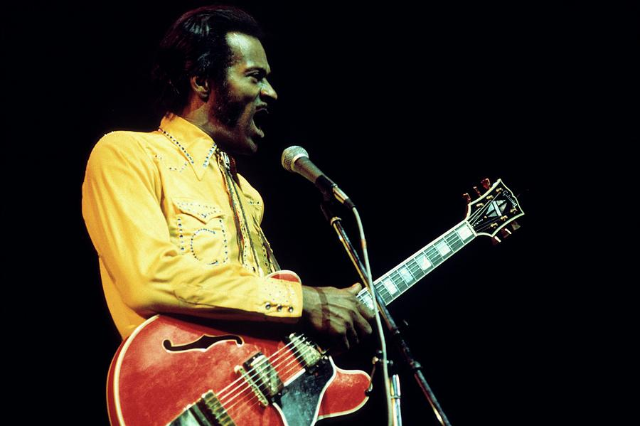 Photo Of Chuck Berry Photograph by Andrew Putler