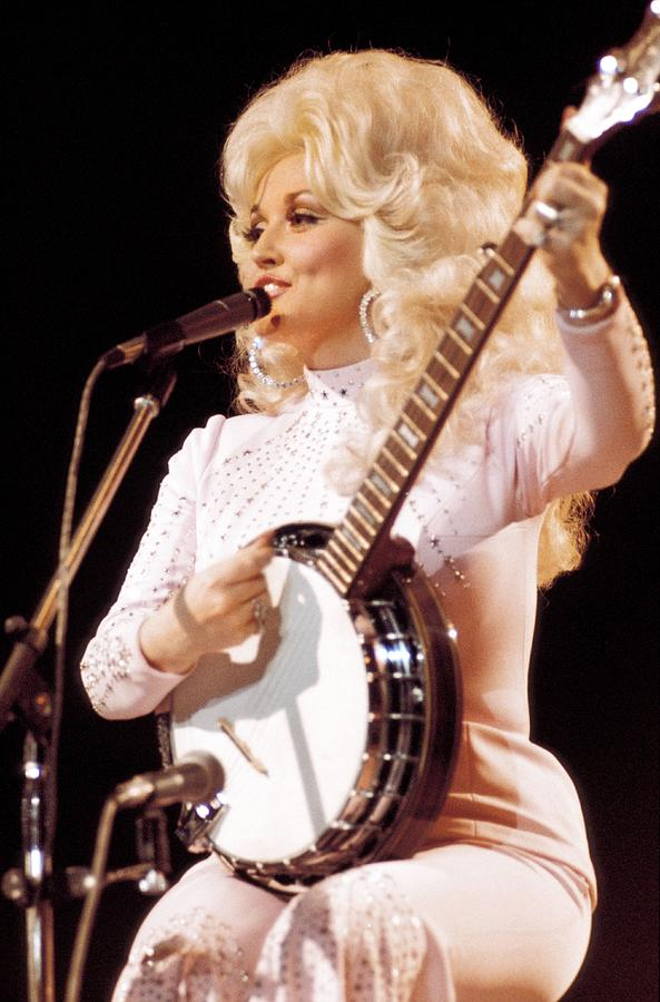 Photo Of Dolly Parton Photograph by Andrew Putler